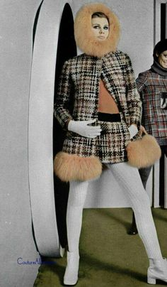 Vintage Fashion: Fashion Photography - Pierre Cardin 1969