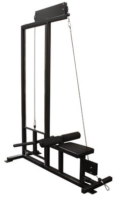 EliteFTS: EFS E-Series Plate Loaded Lat Pulldown and Low Row
