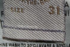 Ratgeber mit Bildern und Tipps, um eine echte Diesel Jeans & Mode von einem Fake bzw. Plagiat zu unterscheiden.