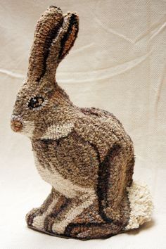 Noahs bunny standing hooked by Kelly Peirce