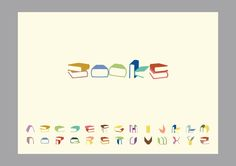 Books Font on the Behance Network