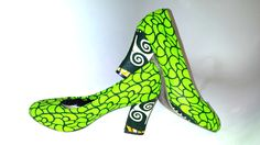 Waterproof African Print Shoes UK 5 by African Septs, showcasing at IchinenFashion on Etsy, £39.99