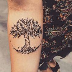 Imagenes De Tatuajes Del Arbol De La Vida Secos O Muertos Tatuajes