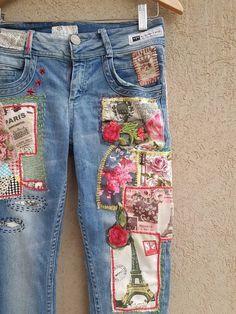 Distressed Vintage Boyfriend Jeans/Hipster Jeans/All Sizes/Grunge Jeans/boho/vintage jeans/womens jeans Denim Vintage, Jean Vintage, Boho Vintage, Jean Rapiécé, Jean Diy, Grunge Jeans, Hipster Jeans, Boyfriend Jeans, Vaqueros Boyfriend