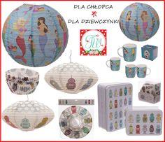 lampy, kubki, muffinki, pudełka w pasujących dekorach. Zajrzyj na www.threewisheshome.pl