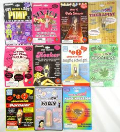 New Assorted Adult Theme Gag Gift Novelty Grow Toys Party Favor Buy 2 Get 1 Free…