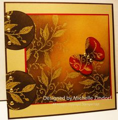 Fab card by Michelle Zindorf.  Don't miss the tutorial on her blog!