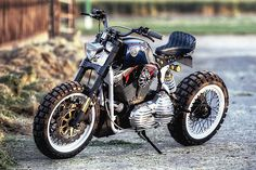 All or nothing. It's a phrase you'd probably take to mean 'no middle ground'. But it seems more and more builders are using it as a yard stick to define new genres for custom bikes. All of the popular styles rolled into one, or maybe none of them at all. What would a cafe scrambler tracker look like? Or an enduro street fighter? Conversely, how would a bike built purely to suit...