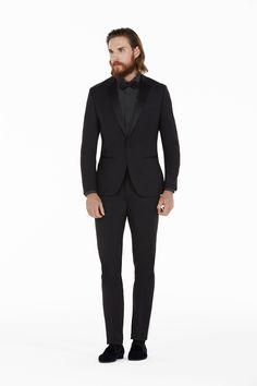 Impeccabile e glamour con il Black Tie e il papillon ton sur ton #OVS #OVSaw15