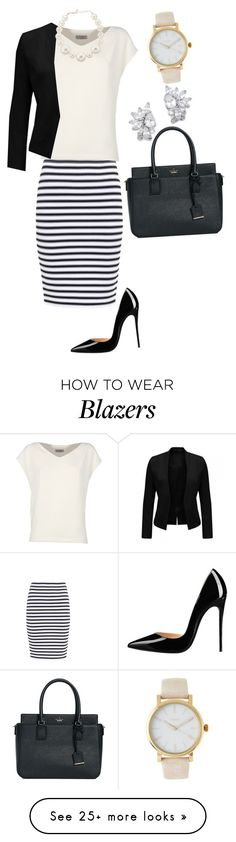 """220612 BSM"" by mil0000000000000 on Polyvore featuring A.L.C., Alberto Biani, Kenneth Jay Lane, Timex and Kate Spade"