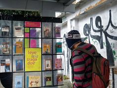 """""""What if bus stops were also mini libraries?"""" In Sao Paulo, Brazil, some of them are."""