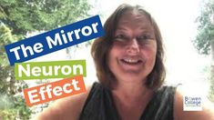 The Mirror Neuron Effect Mirror Neuron, College Website, Therapy, Social Media, Videos, Social Networks, Healing, Social Media Tips