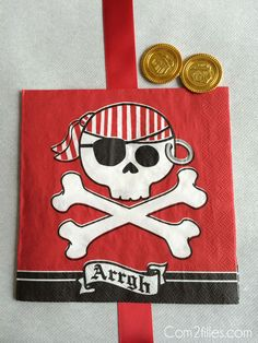 fête anniversaire pirate