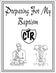 Baptism Handouts for Children and Parents