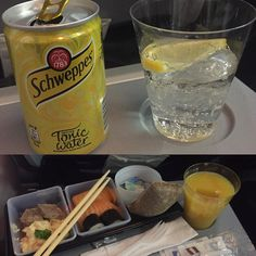 #nice#service#on#AtlanticAirways#free#sushi#coffe#and#Gin#and#tonic# by maria_yacobi