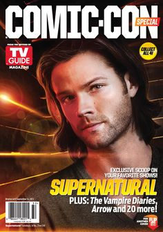 Woah nice cover photo for Jared. Less Blue Steel more puppy.  Yum.