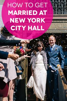 How To Get Married At New York City Hall | A Practical Wedding