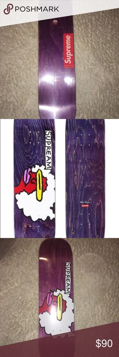 Supreme Purple Gonz Ramm Skateboard Deck Supreme Gonz Ramm Deck from store in LA. Unused. Unwrapped. Comes with original supreme bag. Supreme Other