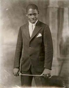 "Handsome young ""Band Leader,"" in a studio portrait by James Van Der Zee,  1931"