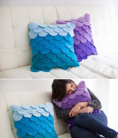 Como fazer uma almofada de panos de bandeja passo a passo - Uma maneira criativa fazer almofadas! - Veja aqui!