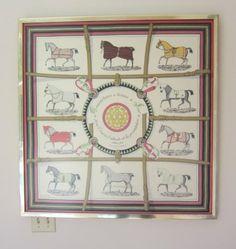 Framed Hermes Scarf, Belle Meade Sale-- May 29,30, 1202 Chickering Rd Nashville N 37205