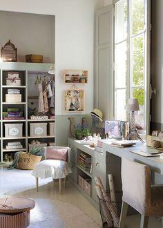 Beautiful teen's bedroom | Habitación de adolescente · www.chic-deco.com