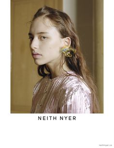 Neith Nyer'screative director Francisco Terraunveiled its Spring/Summer 2018 CampaignPhotographed by Nicolas Coulomb & Florence Tétier, styled by Georgia Pendlebury. Neith Nyer's SS18 campaign invites to deal with the idea of absence. It reflects the collection that was built around the figure of a girl who is ill and meant to be lost. Unlike the commonly … Continue reading Neith Nyer Spring Summer 2018 Campaign →