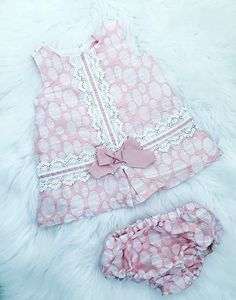 Stunning Baby Girl Dresses and Clothes have just landed. Build Your Little Girls Spring/Summer 2019 Wardrobe With Our Latest Designs. Cute Bow Detail. Sizes 6-24 Months. We Also Have Matching Older Girl Dresses. Colour - Pink.  #Summer #Babygirl #Dresses #Flowergirldresses