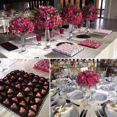 Detalhe mesa de doces e decor