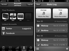 "iHome+Sleep features a morning summary of social feeds so you can catch up on your ""Overnight News."""