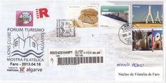 Carta Registada com carimbo comemorativo Forum Turismo Algarve