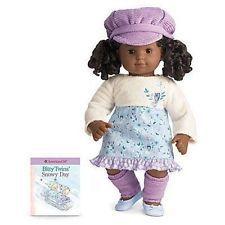 American Girl Bitty Baby Twin Girl Snowy Owl Dress - NIB - No Doll Included
