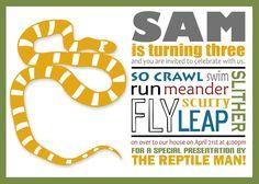 reptile invite