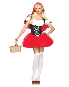 Racy Red Riding Hood Adult Womens Costume