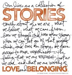 Our lives are a collection of stories