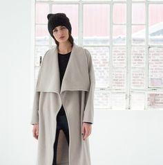Jackets – NEW Wool Jacket / Winter Coat / marcellamoda-MC270 – a unique product by marcellamoda on DaWanda