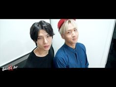 VIXX LR V App~ Trans: Leo: Hi, I'm Joy. Ravi: Hi, I'm Sadness. Drag me along. Leo: Hi, I'm Anger /then hits the table XD/ Ravi: Hi, I'm Bing Bong. Don't forget me. My body is disappearing. Leo: VIXX-side out. XD laughing so hard!~