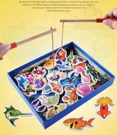 32pcs Magnetic Fishing Toy Wooden Fish Toys Fish Magnet Jigsaw Puzzle Board Fishing Game For Children free shipping  http://playertronics.com/products/32pcs-magnetic-fishing-toy-wooden-fish-toys-fish-magnet-jigsaw-puzzle-board-fishing-game-for-children-free-shipping/