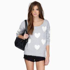 Winter Women Soft Fur Sweater LAVELIQ