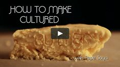 Pepe Saya is the master of Australian Cultured Butter. His dream is for you to be making beautiful cultured butter at home. In this video he shares his knowledge… Butter, Knowledge, Desserts, How To Make, Food, Beautiful, Canning, Consciousness, Postres