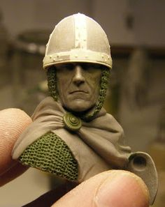 Norman Knight, Plastic Art, Arm Armor, Fantasy Miniatures, Wood Carving, Sculpting, Fantasy Art, Bronze, Clay
