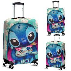 Stitch Disney Luggage Cover 8 - New Ideas