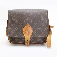 Louis Vuitton Cartouchiere  Monogram Shoulder bags Brown Canvas M51253