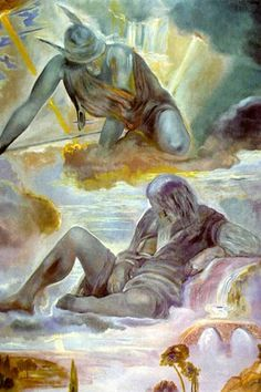 Mercury and Argos (1981) by Salvador Dalí