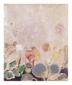 Odilon Redon, Flower Field