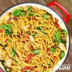 The Slow Roasted Italian - Printable Recipes: One-Pot Cheesy Italian Pasta and Chicken