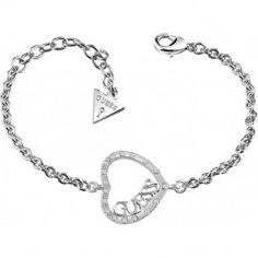 Bracelet Guess Love Affair métal rhodié UBB83074
