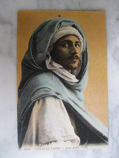 6258. Scénes et Types  Jeune Arabe