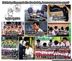 Hal-hal paling nyebelin di sekolah - #GambarLucu #MemeLucu - http://www.indomeme.com/meme/hal-hal-paling-nyebelin-di-sekolah/