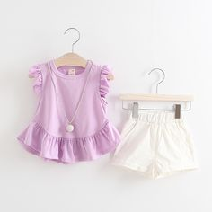 Girls Fashion Clothing Sets Summer Baby Girls Clothes Kids Clothing Se - FirstLook - June 23 2019 at Girls Formal Dresses, Lace Party Dresses, Toddler Dress, Baby Dress, Christening Gowns Girls, Girls Rompers, Kind Mode, Outfit Sets, Girl Fashion